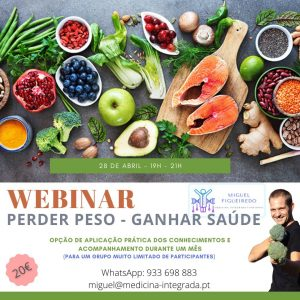 webinar perder peso ganhar saúde - Miguel Figueiredo
