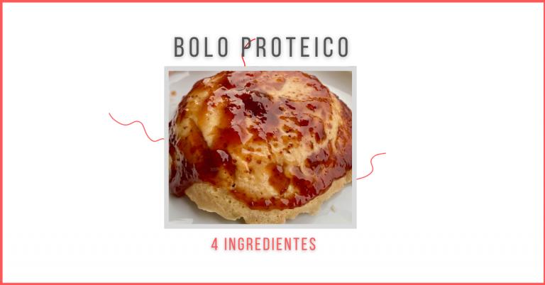 Bolo proteico - Miguel Figueiredo