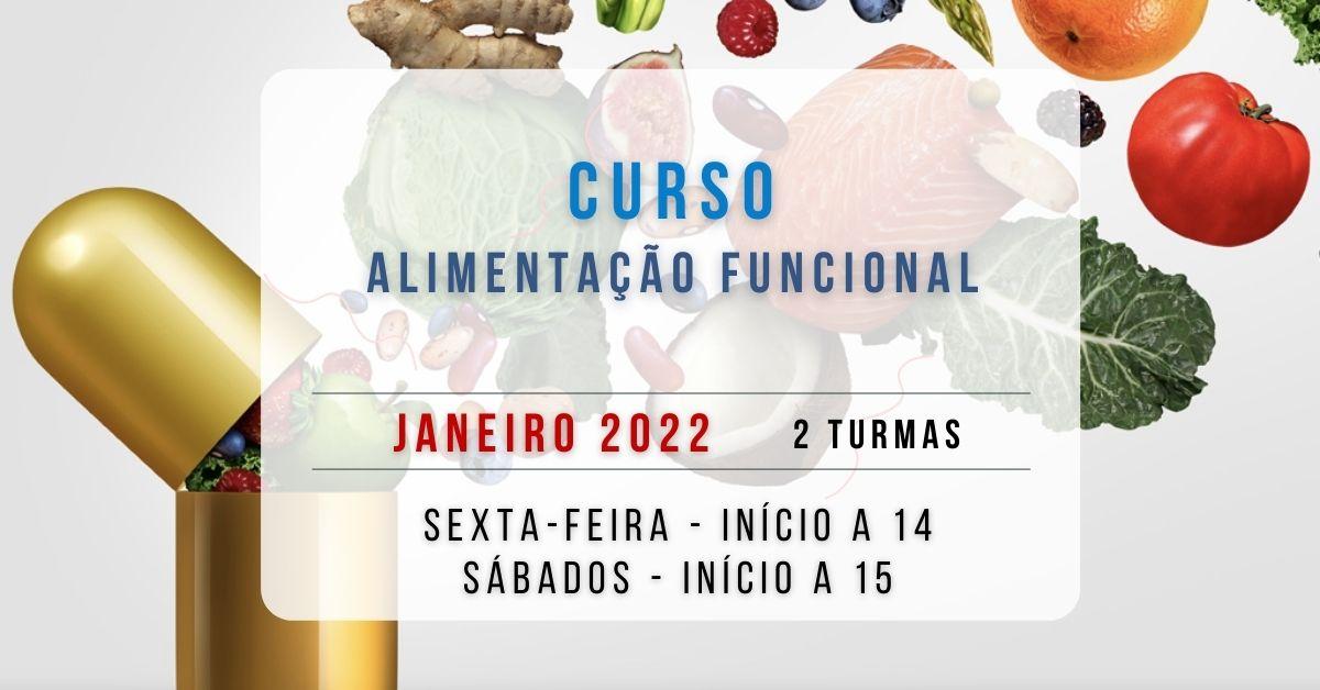 Curso de Alimentação Funcional – 2022 (novas datas)